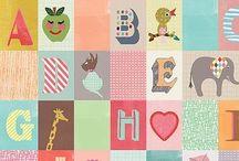 Alfabet/letters/schrijven/leren lezen / by Sharine