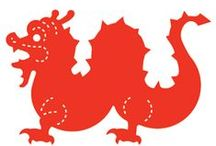 Chinese New Year Dies / by Duquesne University Curriculum Center Ellison Machine and Dies @ Duquesne University