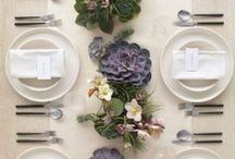 Party Decor / Table Settings