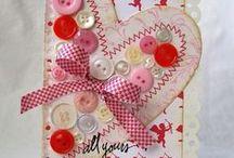 dia de los enamorados,san valentin / corazones / by gela gal