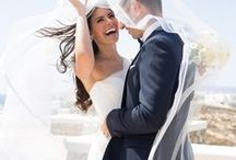 Greek island weddings