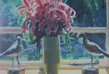 Still Life / Contemporary still life painting with an eye towards tradition