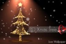 3D Christmas tree live wallpaper / 3D Christmas scene with a colorful Christmas tree lighting with a 3D star on top.  This Christmas live wallpaper has hologram mode for devices with gyro, you can get 3D perspective by rotating device. Set your favorite color for this Christmas scene or change it by tap on the star, set automotion option to enjoy different points of views or enjoy the 3D perspective! This Christmas winter scene have a realistic snowfall with snowflakes, snow or lights.