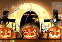 Halloween Lights Live Wallpaper / In this Halloween Live Wallpaper not only the lights are alive, the grass is gently rocked by the wind, and pumpkins breathe for light up, with the flames of hell, the way back from the soul., while a mystical fog moves quickly through the sacred land. See the Halloween countdown in the tomb, turn off the lights in this Halloween Live Wallpaper and you can see evil smile of the pumpkins.