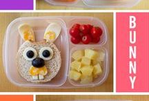 Back to School Lunch Ideas / Bento Box Lunch Box Ideas. Healthy lunch options. Fun and playful lunches kids will love.
