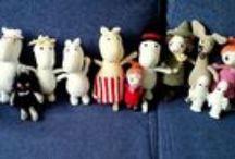 Muumilaakso / Moomin crochet amigurumi