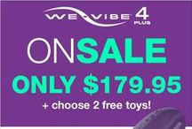 WE-VIBE / The We-Vibe line includes the world's first and best selling couples vibrator and three personal intimate massagers. All We-Vibe products are made with the highest quality materials, are eco-friendly, rechargeable and body safe.