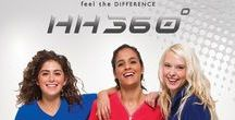 HH360 by Healing Hands / HH360 is the Ultimate Performance Scrub. With dual-textured easy care fabric, these fabrics are here to change the way you see scrubs.
