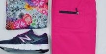 Scrub and Shoe Pairings / Here are a few coordinating combos of scrubs and shoes!