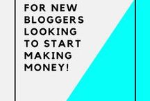 Money Making Ideas / Easy & fun ways to make money, money making tips & tricks, and great advice for bloggers!