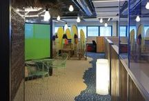 Office Environment  / Pictures of office spaces from around the world #office