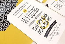 Wedding stationery / All the paper products for your special day