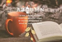 Autumn / Things I love in autumn :-) cozy sweaters,fireplace,tea time,landscapes and many other things ;)