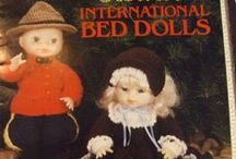 dolls and doll patterns / Crochet, Knit, sew patterns along with accessories - shoes, socks, clothes, hair, etc.