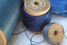 fabrics and spools
