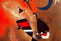 Joan Miró / Happy art! Joan Miró i Ferrà (20 April 1893 – 25 December 1983) was a Catalan Spanish painter, sculptor, and ceramicist born in Barcelona. Earning international acclaim, his work has been interpreted as Surrealism, a sandbox for the subconscious mind, a re-creation of the childlike, and a manifestation of Catalan pride. http://en.wikipedia.org/wiki/Joan_Miro