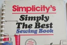Sewing books, how to's