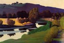 Félix Edouard Vallotton (Les Nabis) / His landscapes! Félix Edouard Vallotton (December 28, 1865 – December 29, 1925) was a Swiss painter and printmaker. He was an important figure in the development of the modern woodcut. By 1892 he was affiliated with Les Nabis, a group of young artists that included Pierre Bonnard, Ker-Xavier Roussel, Maurice Denis, and Édouard Vuillard, with whom Vallotton was to form a lifelong friendship. http://en.wikipedia.org/wiki/Félix_Vallotton