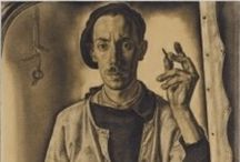 Dick Ket / Makes U wonder... Dick Ket (October 10, 1902 – September 15, 1940) was a Dutch magic realist painter noted for his still lifes and self-portraits. Born in Den Helder, Ket spent his childhood in Hoorn and then Ede before attending the Kunstoefening in Arnhem from 1922 to 1925. Born with a serious heart defect he was prevented from traveling by debilitating weakness as well as by phobias, and lived secluded in his parents' house in Bennekom after 1930. http://en.wikipedia.org/wiki/Dick_Ket