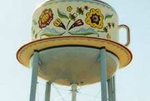 **** WATER-TOWERS**** / by LOIS