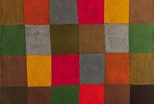 Paul Klee / Colour combinations! Paul Klee (18 December 1879 – 29 June 1940) was a German painter born in Switzerland. His highly individual style was influenced by expressionism, cubism, and surrealism. He was also a student of orientalism. Klee was a natural draftsman who experimented with color theory, published in English as the Paul Klee Notebooks. They are held to be as important for modern art as Leonardo da Vinci's A Treatise on Painting for the Renaissance. http://en.wikipedia.org/wiki/Paul_Klee