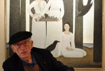 Will Barnet / Will Barnet (May 25, 1911– November 13, 2012) was an American artist known for his paintings, watercolors, drawings, and prints in casual scenes of daily life and in transcendent dreamlike worlds. He knew by the age of 10 that he wanted to be an artist. As a student, he studied with Philip Leslie Hale at the School of the Museum of Fine Arts, Boston and viewed first-hand John Singer Sargent at work on the murals of the Boston Public Library. http://en.wikipedia.org/wiki/Will_Barnet