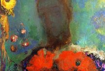 """Odilon Redon / Magical. Bertrand-Jean Redon (April 20, 1840– July 6, 1916) was a French symbolist painter, printmaker, draughtsman and pastellist. Odilon Redon was born in Bordeaux, Aquitaine to a prosperous family. The young Bertrand-Jean Redon acquired the nickname """"Odilon"""" from his mother, Odile. Redon started drawing as a child and at the age of ten he was awarded a drawing prize at school. http://en.wikipedia.org/wiki/Odilon_Redon"""