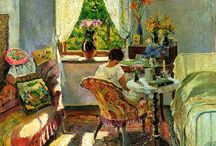 Sergei Vinogradov / Sergei Vinogradov (1869-1938) was born in the village of Bolshiye Soli in Kostroma province in 1869. Vinogradov was the son of a country clergyman. He received his artistic education at the Moscow School of Painting, Sculpture and Architecture. Sergei Vinogradov was a leading Moscow Impressionist.