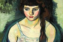 Suzanne Valadon / Suzanne (born as Marie-Clémentine) Valadon (23 September 1865– 7 April 1938) was a French painter and mother of Maurice Utrillo. Valadon was a circus acrobat at the age of fifteen, but a fall from a trapeze ended that career 1 year later. She modelled for Henri de Toulouse-Lautrec (gave her painting lessons), Pierre-Auguste Renoir, and Pierre-Cécile Puvis de Chavannes and she was one of Edgar Degas' closest friends until his death. http://en.wikipedia.org/wiki/Suzanne_Valadon