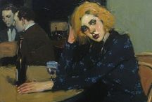Malcolm Liepke / Sensual lips! Malcolm T Liepke (1953 - ) is an American painter born in Minneapolis, Minnesota. He studied at the Art Center College of Design in Pasadena, California, but dropped out 1,5 years. He moved to New York and began studying on his own artists as John Singer Sargent, Edgar Degas, Henri de Toulouse-Lautrec, Diego Velázquez, James McNeill Whistler and Édouard Vuillard. In turn, his style has inspired others. http://en.wikipedia.org/wiki/Malcolm_T._Liepke