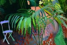 Raoul Dufy / Raoul Dufy ((3 June 1877 – 23 March 1953) was a French Fauvist painter. Raoul Dufy was born into a large family at Le Havre in Normandy. He left school at the age of fourteen to work in a coffee-importing company. In 1895 he started taking evening classes in art at Le Havre's École d'Art. He developed a colorful, decorative style that became fashionable for designs of ceramics and textiles, as well as decorative schemes for public buildings. http://en.wikipedia.org/wiki/Raoul_Dufy