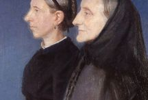Anna Ancher (Skagen) / Anna Ancher (18 August 1859 – 15 April 1935) was a Danish artist associated with the Skagen Painters, an artists' colony in the very north of Jutland. Anna was the only one of the Skagen Painters who was actually born and grew up in Skagen, where her father owned the Brøndums Hotel. She studied drawing in Paris along with Marie Triepcke, who would marry Peder Severin Krøyer, another Skagen painter. In 1880 Anna married fellow painter Michael Ancher. http://en.wikipedia.org/wiki/Anna_Ancher