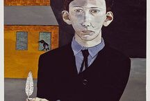 Lucian Freud / A true artist who gives you the shivers. Lucian Michael Freud (8 December 1922– 20 July 2011) was a German-born British painter. He was a grandson of Sigmund Freud. Known chiefly for his thickly impastoed portrait and figure paintings, he was widely considered the pre-eminent British artist of his time. His works are noted for their psychological penetration, and for their often discomforting examination of the relationship between artist and model. http://en.wikipedia.org/wiki/Lucian_Freud