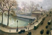 Albert Marquet / La Seine! Albert Marquet (27 March 1875 – 14 June 1947) was born in Bordeaux, France and associated with the Fauvist movement. He became a lifelong friend of Henri Matisse. Marquet subsequently painted in a more naturalistic style, primarily landscapes, but also several portraits and, between 1910 and 1914, several female nude paintings. http://en.wikipedia.org/wiki/Albert_Marquet