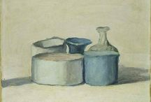 Giorgio Morandi / Serenity. Giorgio Morandi (July 20, 1890 – June 18, 1964) was an Italian painter and printmaker who specialized in still life. His paintings are noted for their tonal subtlety in depicting apparently simple subjects. At the Accademia, Morandi taught himself to etch by studying books on Rembrandt, in which he was excellent. Morandi, even if he lived his whole life in Bologna, was influenced by the works of Cézanne, Derain, and Picasso. http://en.wikipedia.org/wiki/Giorgio_Morandi