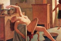 """Balthus (Balthazar) Klossowski de Rola / Balthasar Klossowski de Rola (February 29, 1908 – February 18, 2001), best known as Balthus, was a Polish-French modern artist. Throughout his career, he rejected the usual conventions of the art world. He insisted that his paintings should be seen and not read about. A telegram sent to the Tate Gallery """"NO BIOGRAPHICAL DETAILS. BEGIN: BALTHUS IS A PAINTER OF WHOM NOTHING IS KNOWN. NOW LET US LOOK AT THE PICTURES. REGARDS. B."""" http://en.wikipedia.org/wiki/Balthus"""