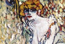 Maurice de Vlaminck / Maurice de Vlaminck (4 April 1876 – 11 October 1958) was along with André Derain and Henri Matisse he is considered one of the principal figures in the Fauve movement, a group of modern artists who from 1904 to 1908 were united in their use of intense colour. Maurice de Vlaminck was born in Paris to a family of musicians and painted during the day while he earned his livelihood by giving violin lessons and performing with musical bands at night. http://en.wikipedia.org/wiki/Maurice_de_Vlaminck