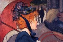 Louis Anquetin / Louis Anquetin (26 January 1861 – 19 August 1932) was a French painter. In 1882, he came to Paris and met Henri de Toulouse-Lautrec. They moved together to the studio of Fernand Cormon and befriended Émile Bernard and Vincent van Gogh. Around 1887, Anquetin and Bernard developed a painting style that used flat regions of color and thick, black contour outlines. This style, named cloisonnism can be seen for example in Avenue de Clichy: Five O'Clock in the Evening, argued by Dr. Bogomila Welsh-Ovcharov as being inspiration for Van Gogh's famous Cafe Terrace at Night. http://en.wikipedia.org/wiki/Louis_Anquetin