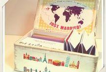 Pachete de nunta Travel / Invitatii si pachete de nunta pentru miri indragostiti de calatorii