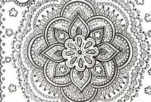 Zentangles, Doodles, Step-by-step, Drawing, Patterns, Mandala, Zen drawing and more / #Zentangles #Inspiration #Drawing #Patterns #Mandalas, #Stepbystep #Fun #Makeyourown #Doodles #Zen #Relax  Make your Zentangles outstanding! :) Have fun!