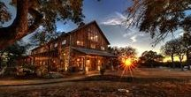 """TGB: Branded T Ranch / This energy efficient ranch foreman's home was designed to be """"Eclectically Texas"""" and showcases materials such as 200+ year old timbers, stacked stone, and tin. Simplicity was a driving factor in the design of this residence."""