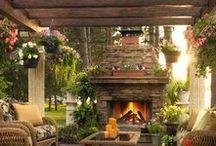 IDEA BOARD: Fireplaces