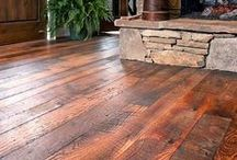 IDEA BOARD: Wood Floors / Selecting the proper wood flooring for your home creates a foundation for the entire home's design.