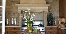 IDEA BOARD: Range Hoods / Because a beautiful range hood is a standout feature in a well-designed kitchen.
