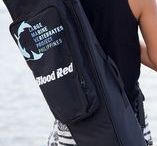 BLOODRED X LAMAVE / Working directly with LAMAVE's field researchers the Blood Red team have designed and created an exclusive free-diving fin bag perfect for the needs of LAMAVEs ocean loving volunteers.