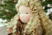 POUPEES WALDORF / Modèles de poupées WALDORF que j'aime.....