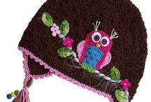 Crochet hat, beanies