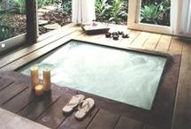 Spas & Hot Tubs / Looking for spa inspirations? These hot tubs will give you an idea for building one at home
