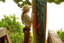 Artistic Surf Boards / Rad designs on surf boards and stand up paddle (SUP) boards. Enjoy.