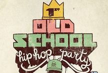 oldschool graphics & hip hop